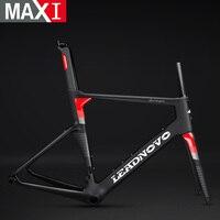NEW Aero carbon road bike frame carbon fiber race bicycle frameset Di2 chinese carbon frame+seatpost+fork LEADNOVO