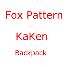 Fox+Kaken Backpack for Men Women 2019 Famous Brand Children