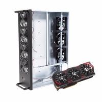 W8 zc профессиональных шахты горной машины шасси 8 Графика сервер шасси с 7 Вентиляторы добыча случае Рамки один Питание