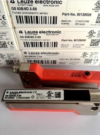 Livraison gratuite GS 63/6D. 3-S8 GS 63B/6D. 3-S8 capteur de type à fente d'étiquettes
