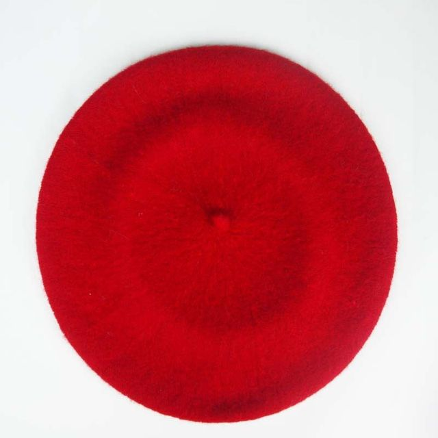 Women Hats Boina Beret Wool...