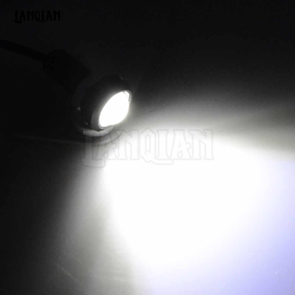 Universal สำหรับ Honda CB190R VT1100 MSX125 XADV X ADV รถจักรยานยนต์/รถ Eagle Eye LED Strobe Light โคมไฟวิ่งกลางวันสัญญาณโคมไฟ