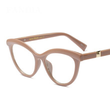 MOLNIYA Fashion Cat Eye Reading Eyeglasses Optical Glasses Frames 2019 New Women Frame Ultra Light Clear