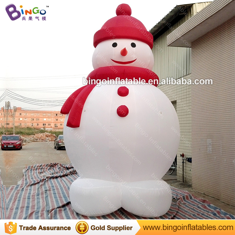 cheap 5m Tall inflatable snowman for Christmas decoration-inflatable toycheap 5m Tall inflatable snowman for Christmas decoration-inflatable toy