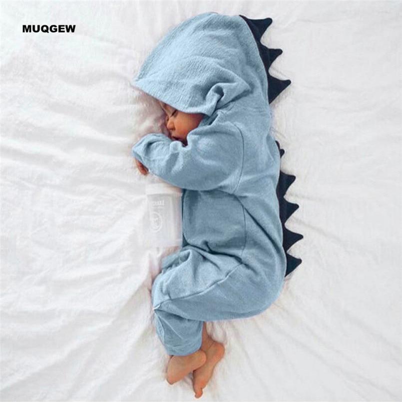 Dinosaur Newborn Infant Baby Boy Girl Bodysuit Romper Jumpsuit Clothes Outfits