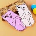 Cute Cat Case Для iPhone 6 6 s Plus 5S SE Case Ripndipp 3D животные Мягкий Силиконовый Rock Карманные Котенок Чехол Для iPhone 6 6 s 5 5S SE