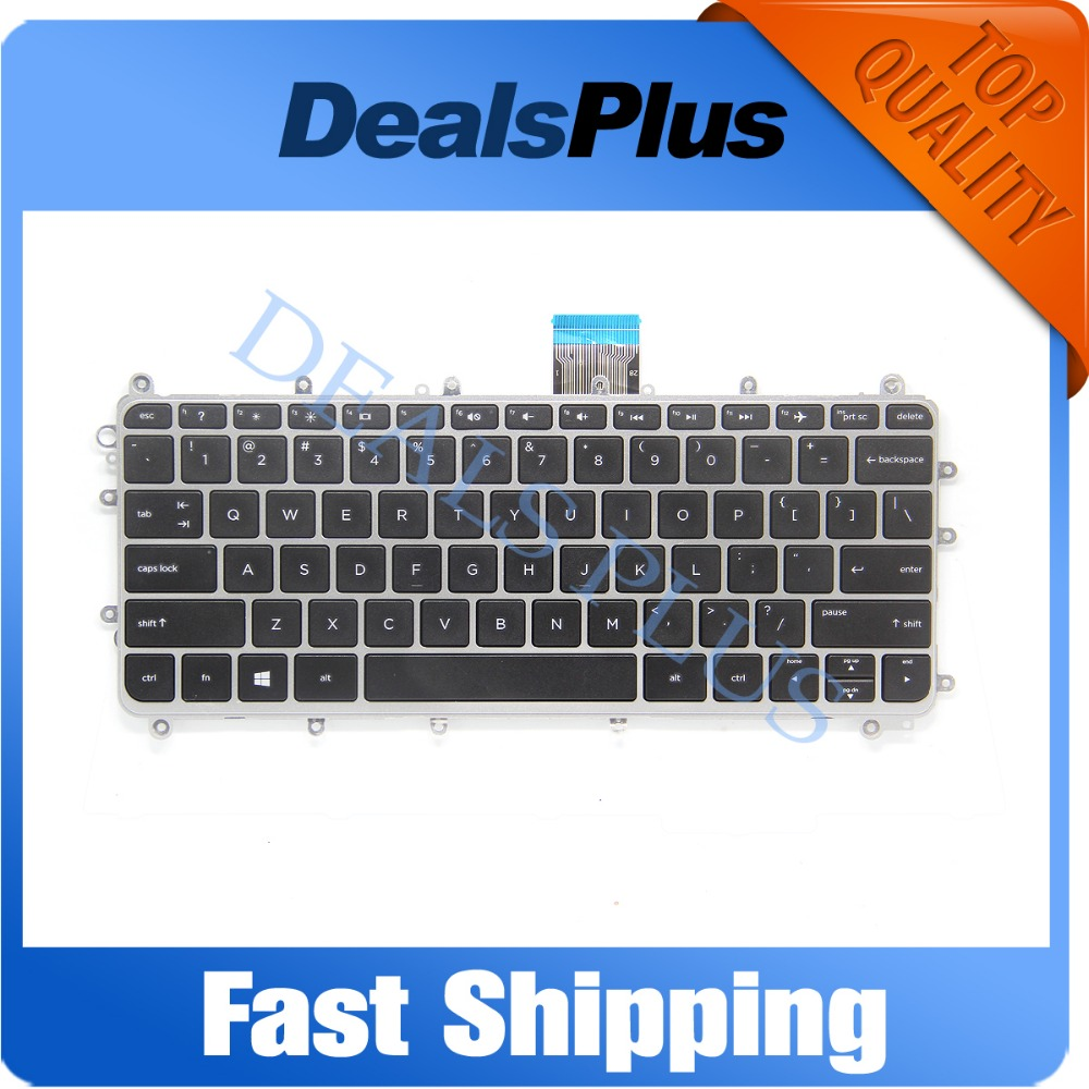 Replacement New US Layout Laptop Keyboard For HP Pavilion 11-n000 11-n100 x360 PC Series,Compatible Part 755896-B31 755896-001 laptop palmrest for hp pavilion 15 n000 15 n100 black with touch pad big enter 1a32h84006 95% new