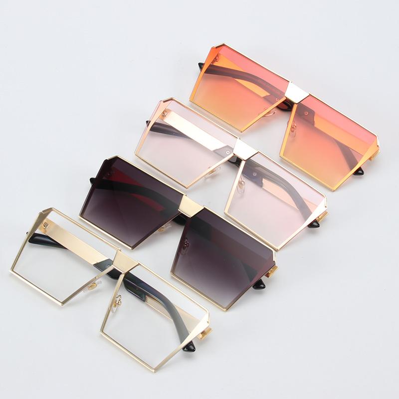 ROYAL-GIRL-2017-New-Color-Women-Sunglasses-Unique-Oversize-Shield-UV400-Gradient-Vintage-eyeglasses-frames-for