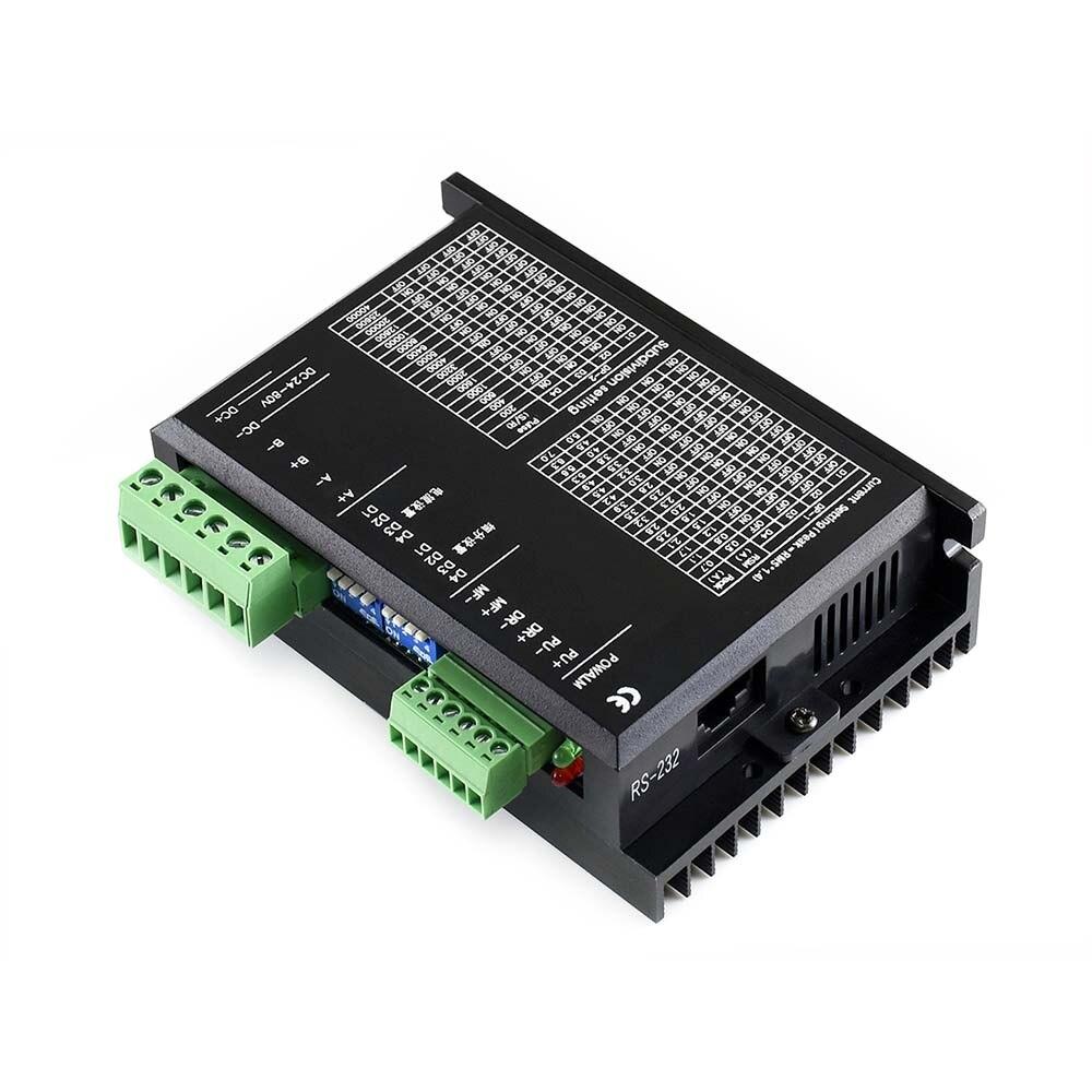 Le moteur pas à pas hybride biphasé SMD258C, résolution jusqu'à 40000 S/R est livré avec des ressources Raspberry Pi et manuel
