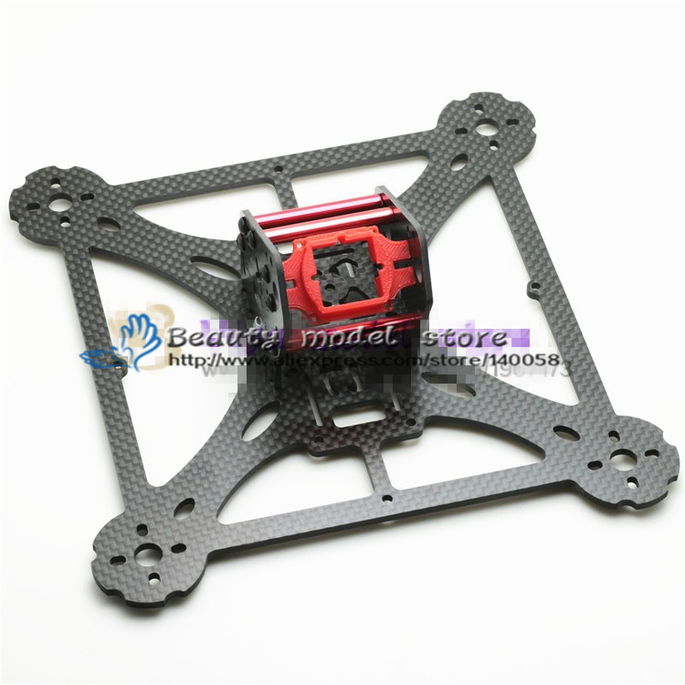 New DIY drone pure carbon fiber quadcopter frame LT HEX 4-200 pro The frame body and wing arms integrally molded unassembled eft diy 10l agriculture spray quadcopter drone 1300mm annular folding pure carbon fiber frame model a and model b