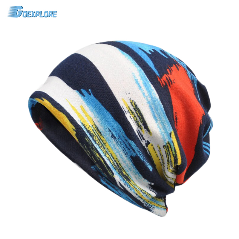 Goexplore Skiing Hats Men Women New Warm Winter Skating Skull Cap Beanies Fleece Scarf collar Caps Ski Cap Snowboard Hat male