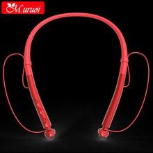 M. uruoi Inear Fone de ouvido Com Cancelamento de Ruído Fones De Ouvido Fones De Ouvido de ALTA FIDELIDADE Sem Fio Bluetooth 4.2 Handsfree Fone de Ouvido Para O Telefone Móvel Fones de Ouvido Do Esporte