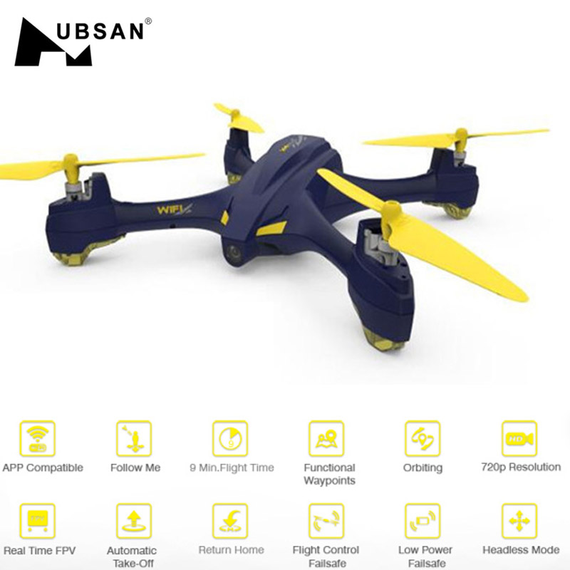 D'origine Hubsan H507A X4 Star Pro Wifi FPV W/720 p HD Caméra GPS Altitude Mode RC Quadcopterr RTF drone de course VS Eachine X1