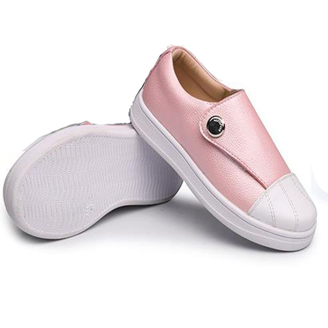 afb691b260a105 Kids Boys Girls Loafers Teenage Girls Shoes Flats Slip on Leather Sneakers  Children Old Classic Skool Flats