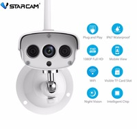 VStarcam C7816WIP Waterproof IP Camera Wireless IR Cut Memory Storage 64G TF Card Wifi Webcam CCTV