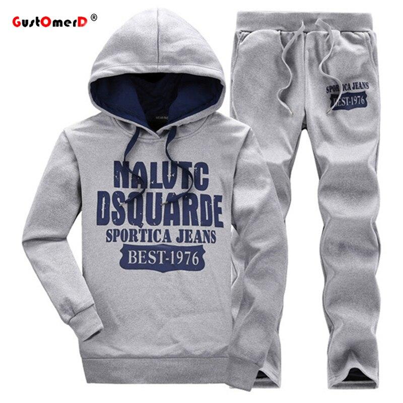 GustOmerD New Tracksuits Fashion Men s Hoodies Men Sweatshirt Pants Men Mens Sporting Tracksuits Sportswear Mens