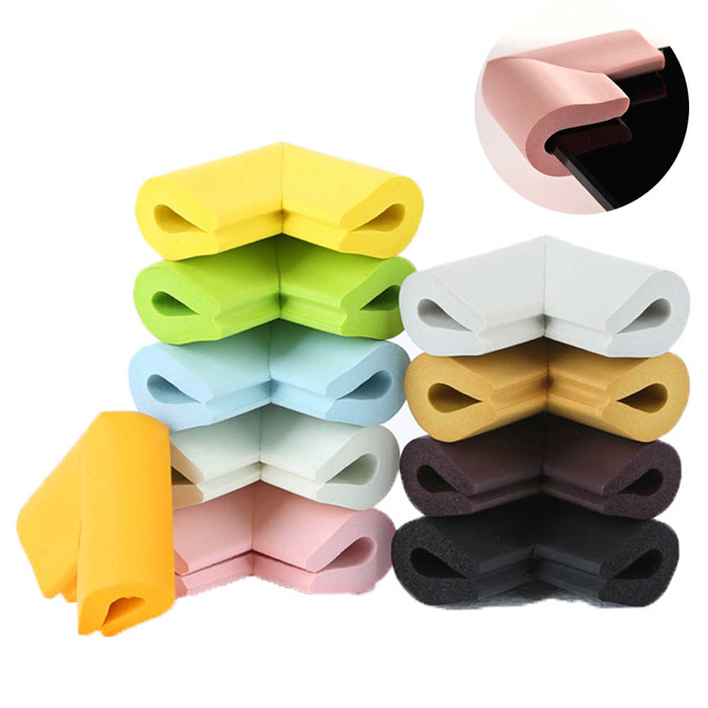 12PCS Child Baby Desk Table Corner Edge Protector Soft Safety Foam Cushion Guard