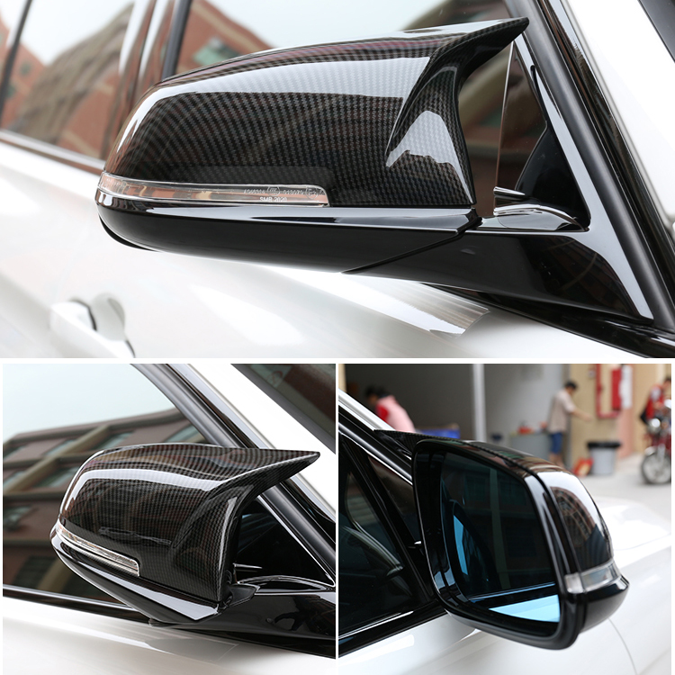 Carbon mirror For BMW F30 F32 F33 F20 F22 F23 F36 X1 Mirror M3 M4 Look Rear View Mirror Cover For F20 F30 F22 F36 F23 F87 M2 все цены