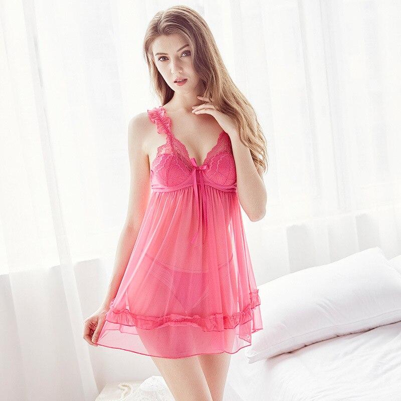 2017 new Nightdress Nightgown Sleepwear Nightwear Summer Dress Night Gown 1323