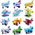Móveis de madeira pequenas aeronaves brinquedos das crianças artesanato decoração doze pedaço combinação modelo de avião de brinquedo de madeira de Um pacote de 12 pcs