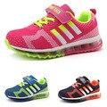 2016 de la moda de Los Niños Respirables Del Deporte Niños Zapatillas de deporte de Marca Niños Zapatos para Niños y Niñas casuales Maxs Tamaño 31-37 corriendo