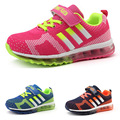 2016 fashion Children Sport Breathable Boys Sneakers Brand Kids Shoes for Girls and Boys casual Maxs Size 31-37 Running