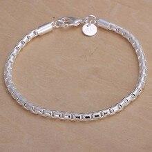 2016 Hot Silver Color Jewelry bracelet, silver plated wristlet vintage-accessories Round Bracelet /QQPLWLVO LZKSZQYYI
