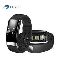 Teyo Умный Браслет Heart Rate Monitor Фитнес Tracker MS01 Водонепроницаемая Камера Дистанционного Pulsera Smartband Inteligente Android IOS