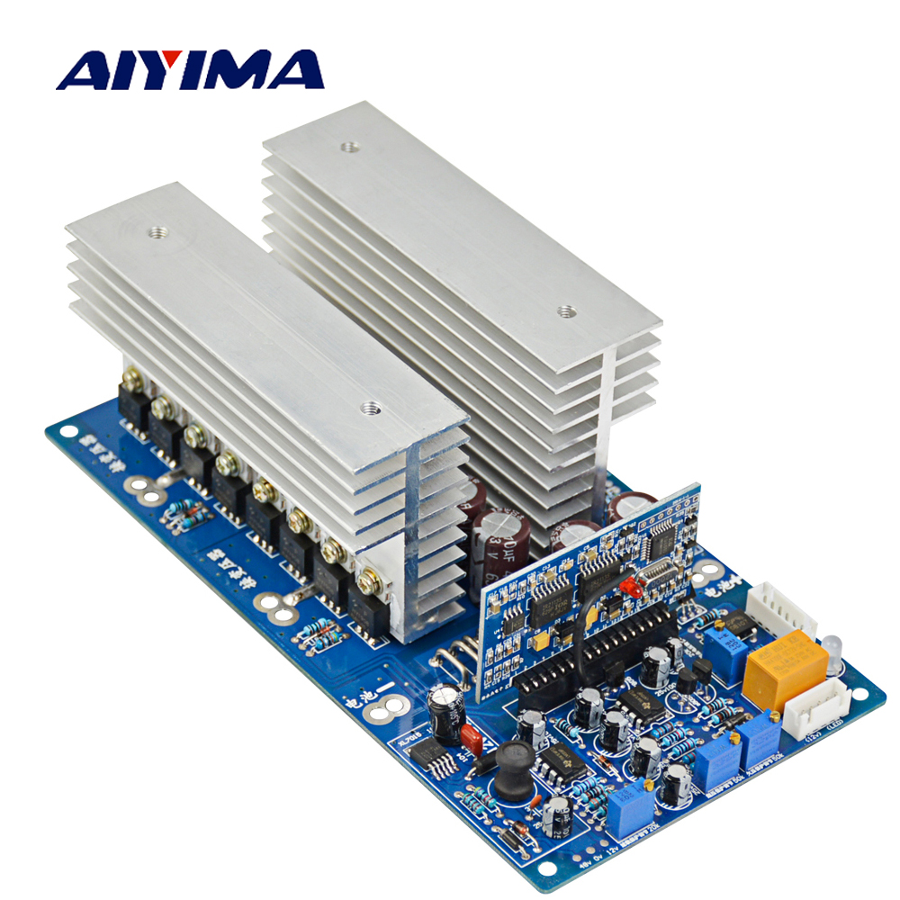 AIYIMA 1PC DC 24V 36V 48V 60V to AC 1500W 2200W 3000W 3500W Pure Sine Wave