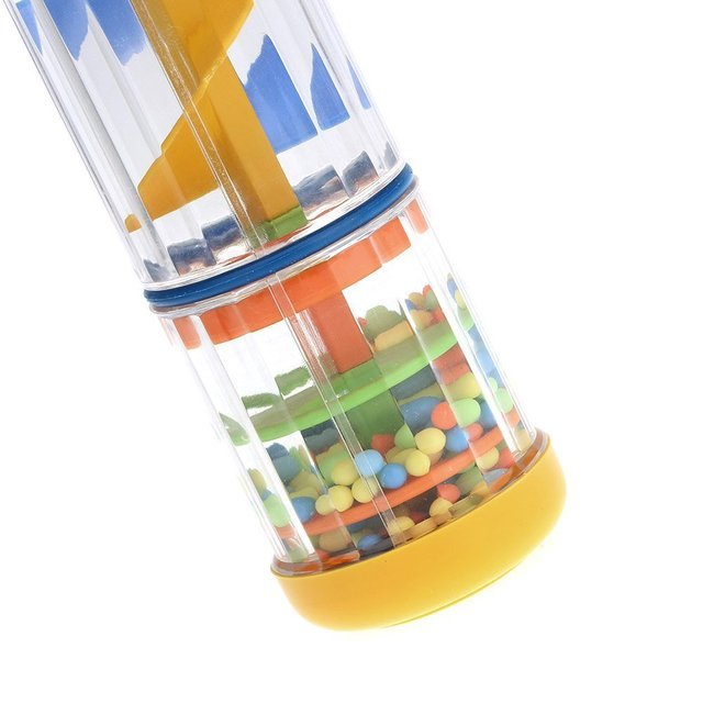 New 8″ Rainmaker Rain Stick Musical Toy for Toddler Kids Games KTV Party