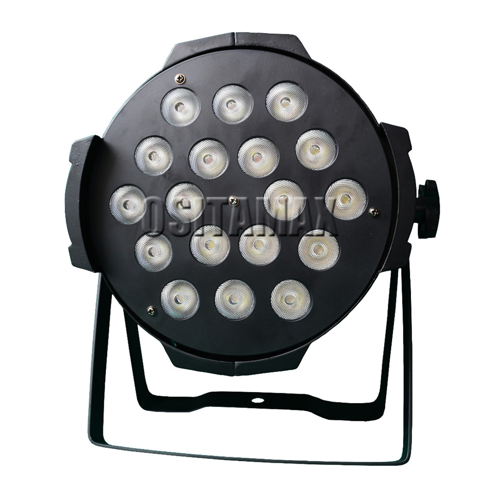 4 pçs/lote 18x15w rgbwa interior IP33 latas par led dmx par can iluminação 18x15w led dmx par 64 18x15w latas par dj levou luz de discoteca par - 2