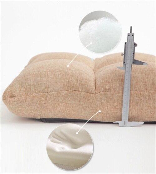 comprar de espuma de memoria silla plegable de diseo muebles de sala tapizado de color caqui paso ajustable moderna silla suelo de chair