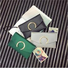 2018 High Quality PU Leather Vintage Bag Women Messenger Fashion Shoulder For Teenager Girls Day Clutches 5 Colors .