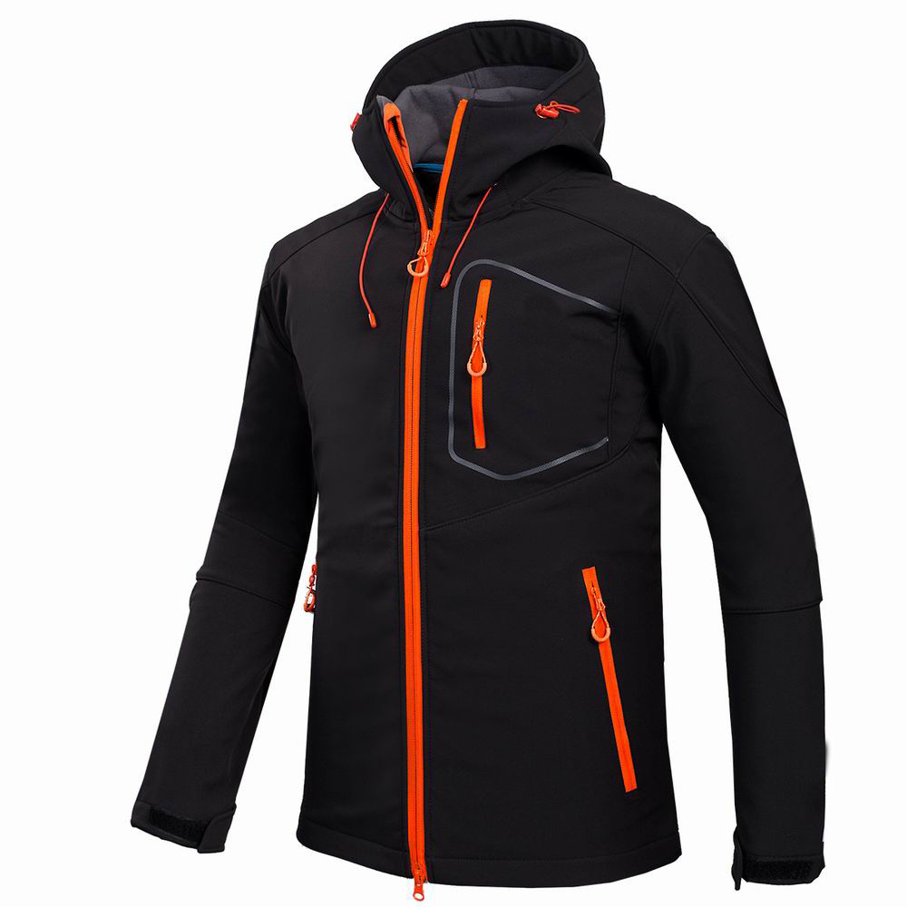 2017 Brand Men Hiking Jacket Windproof Water Resistant Outdoor Sport Softshell Fleece Hard-Wearing Thermal Camping Cycling brand new autumn winter men hiking pants windproof outdoor sport man camping climbing trousers big sizes m 4xl free shipping