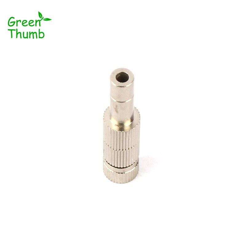 20pcs 6mm Silver Spray Nozzle High/Low Pressure Brass Mist