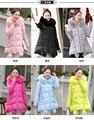 Más grueso de maternidad abrigo de invierno chaqueta larga de algodón acolchado de invierno chaqueta femenina de Corea floja de gran tamaño por la chaqueta M-XXXL