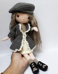 Вязаные игрушки амигуруми погремушка reinee Девушка номер SQ003