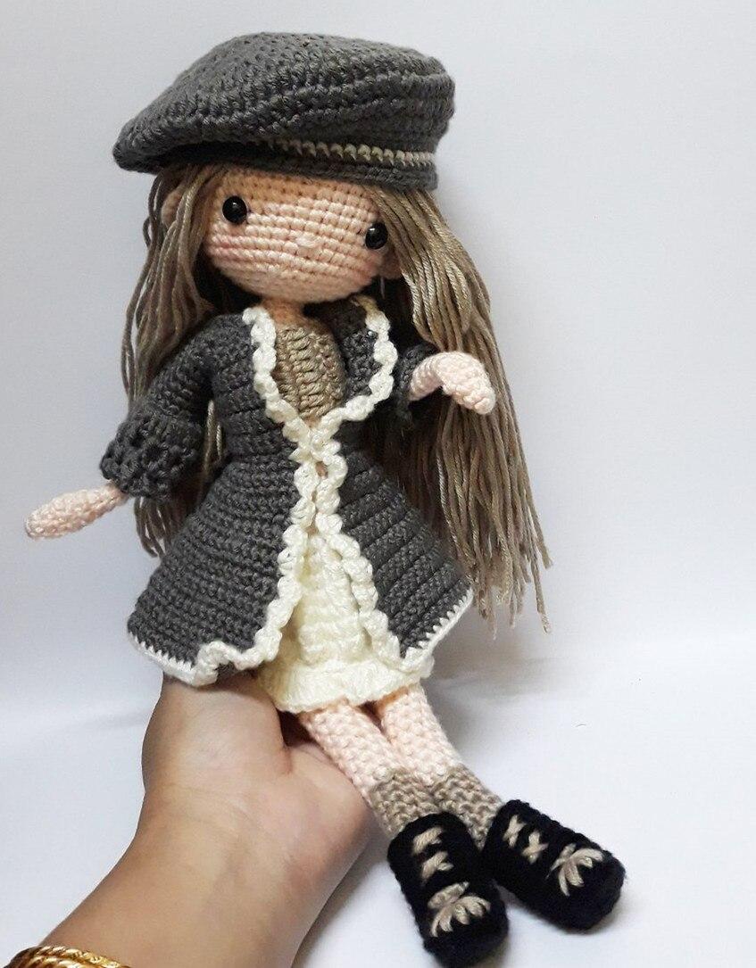 Crochet Toys  Amigurumi  Rattle  Reinee  Girl   Number  SQ003