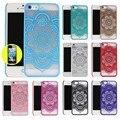 Casos premium para iphone 5 5g 5S se 6 6g 6 s 4.7 6 Plus 5.5 Henna Mandala Paisley Floral Bonito Palácio Flor Casos de Telefone Capa