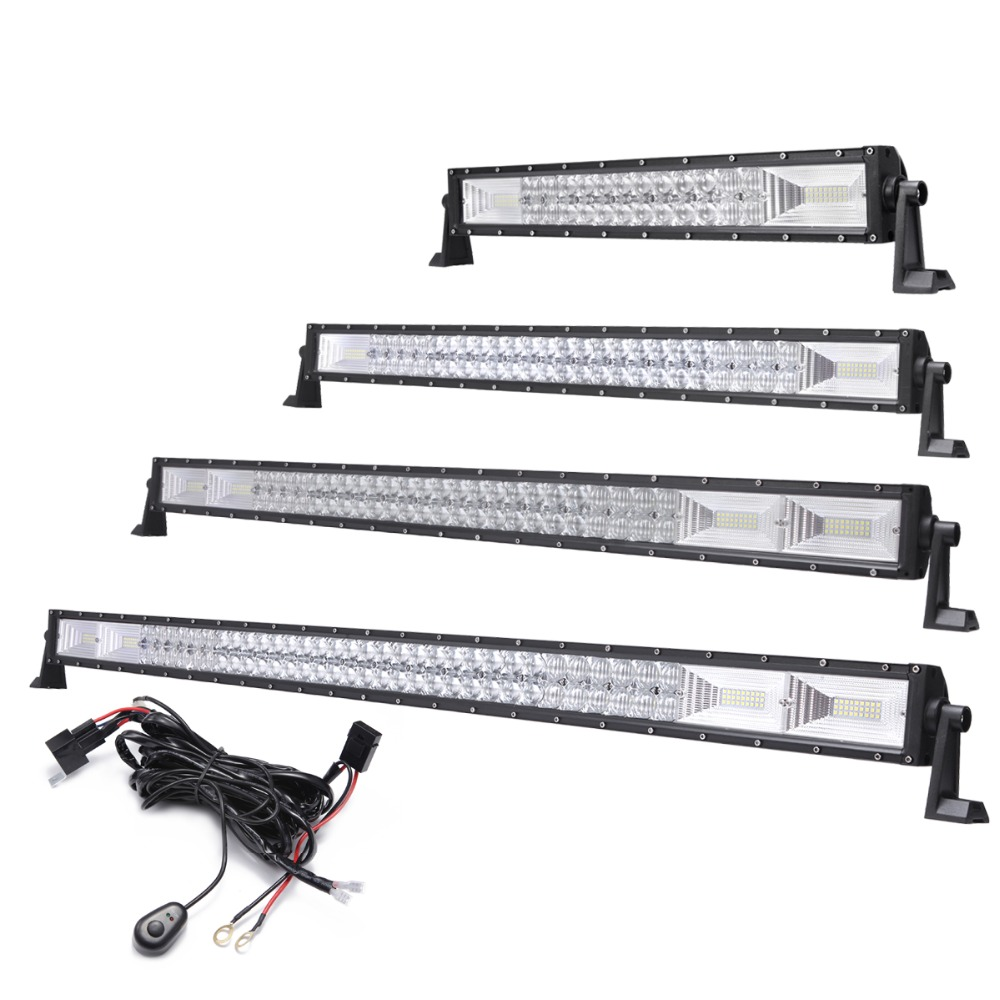 22 33 42 50 LED Light Bar Offroad Combo Truck SUV ATV 4x4 4WD Car Wagon Pickup Camper Tractor UTE 12V 24V Indicator Driving Lamp offroad 13 16 21 24 29 32 inch led work light bar 12v 24v car truck trailer pickup tractor wagon combo 4x4 4wd atv driving lamp