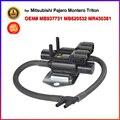 2 ano de garantia de controle da embreagem da roda válvula solenóide atuador a vácuo para mitsubishi pajero montero l200 mr430381 mb937731