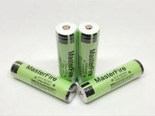 MasterFire 100% Original Protected Battery For Panasonic 18650 2900mAh Rechargeable NCR18650PF Lithium 3.7V Batteries with PCB все цены