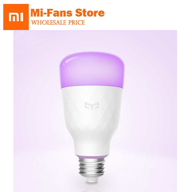 Original Xiaomi Mijia Yeelight Smart LED Bulb Colorful 800 lumens 10W E27 Lemon Smart Bulb For