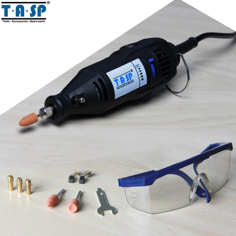 TASP 220V 130W Electric Rotary Engraver Tool Set Mini Drill Grinder with Accessories Power Tools подвесная люстра donolux contessa s110238 6