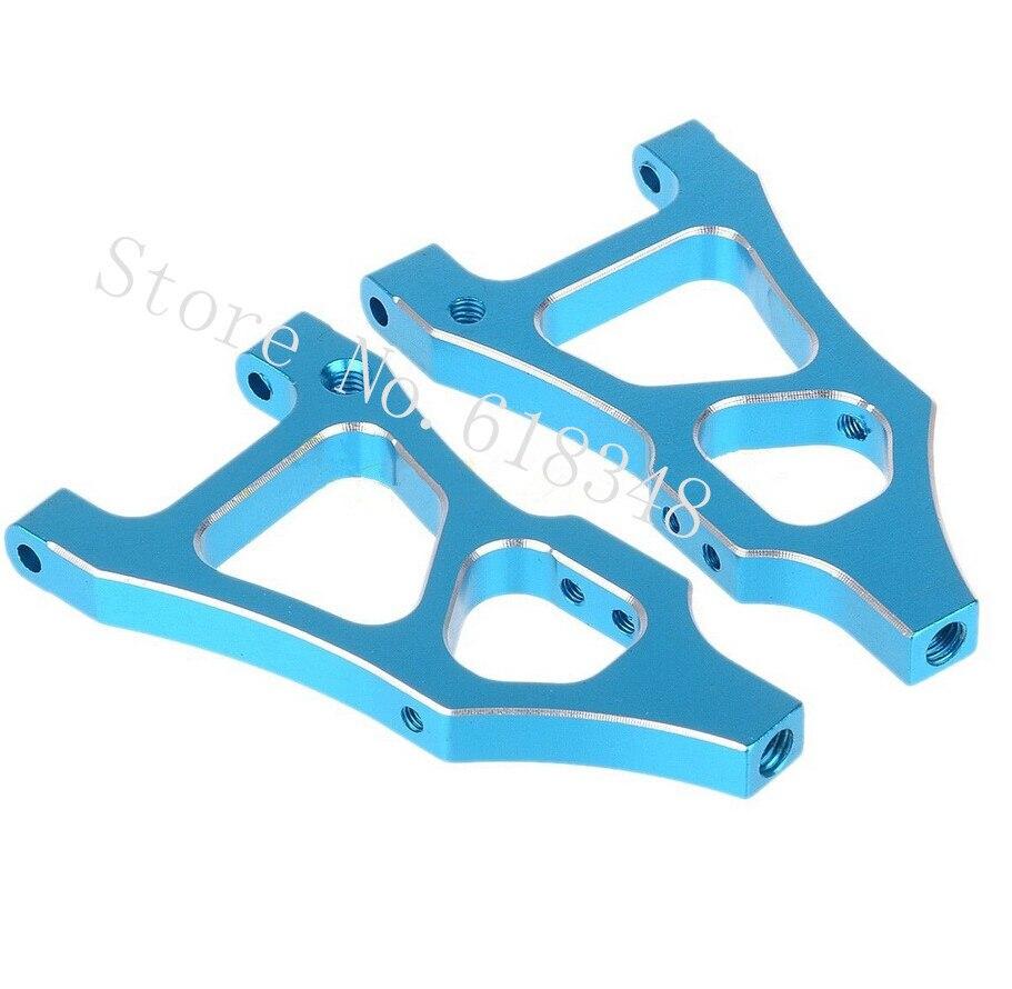 Wholesale 10Pairs/Lot 06052 166019 HSP Upgrades Parts AIuminum Front Lower Arm AL.For 1/10 R/C Buggy Model Car 94166 Backwash