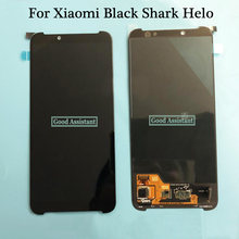 Original Schwarz Für Xiaomi Schwarz Shark Helo BlackShark Helo AWM-A0 LCD DIsplay Touchscreen Digitizer Montage Ersatz(China)