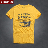 15 Color New Summer Men T Shirt Short Sleeve 100 Cotton Fashion Print T Shirt Men