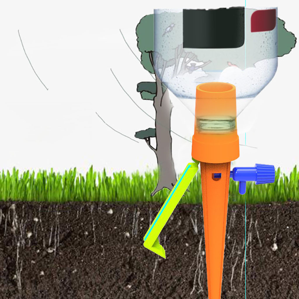 Auto Drip Lrrigation Watering System Automatic Watering Spike for Plants Flower nozzle irragation sprinkler water sprinkler-in Garden Sprinklers from Home & Garden