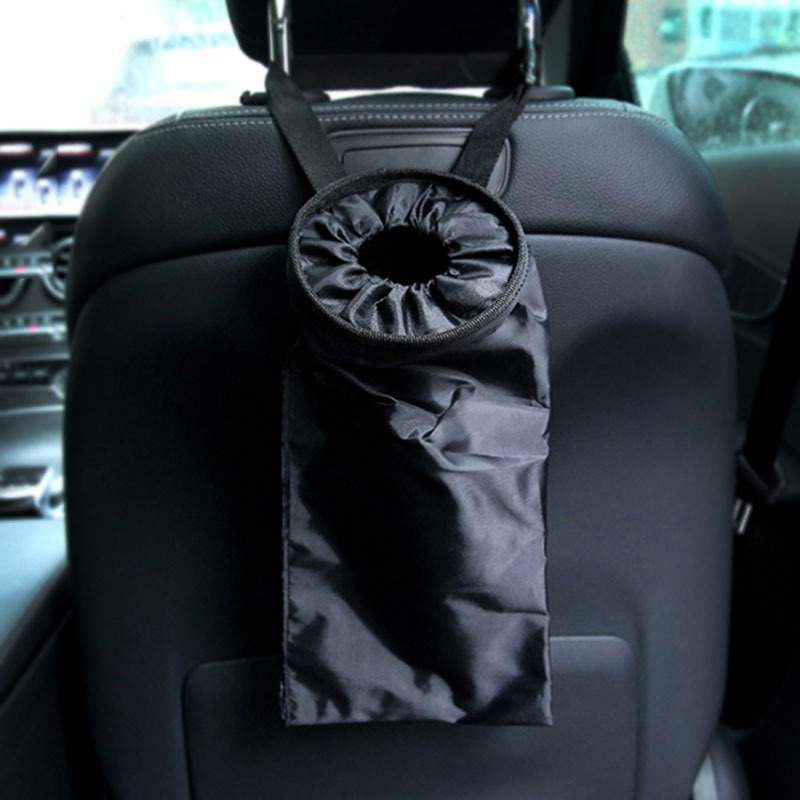 Case-Box Dust-Holder Back-Garbage-Bag Car-Seat Auto-Trash-Can Leak-Proof Portable Oxford-Cloth