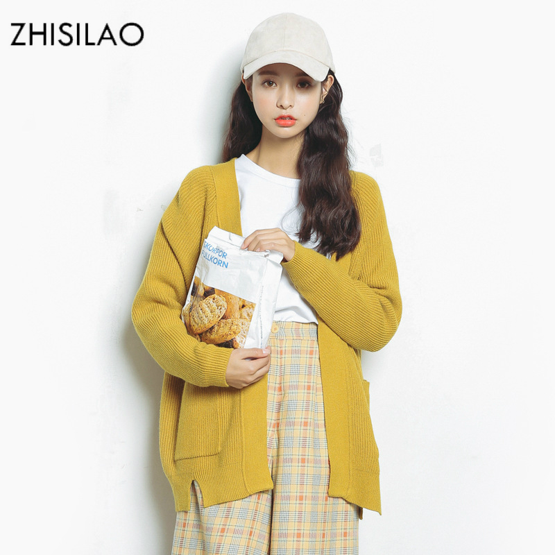 ZHISILAO 2018 Spring Sweaters Woman Sweater Cardigan Woman Poncho Sweaters Pull Femme Hiver Sweater Cape Women Cardigan Cashmere